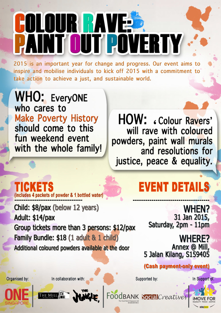 Colour Rave - Paint Out Poverty