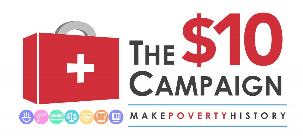 $10 Campaign Logo
