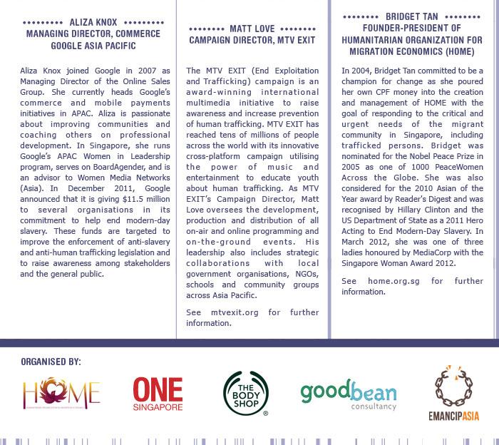 Developing Business Partnerships to Combat Human Trafficking 3